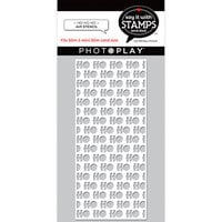 Photo Play Paper - Say It With Stamps Collection - Slimline- 4 x 9 Stencils - HO HO HO