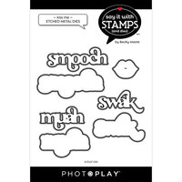 Photo Play Paper - Say It With Stamps Collection - Dies - Kiss Me