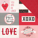 Photo Play Paper - So Loved Collection - 12 x 12 Double Sided Paper - So Loved