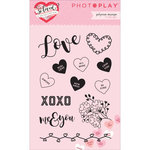 Photo Play Paper - So Loved Collection - Clear Acrylic Stamps