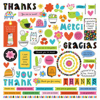 Photo Play Paper - Snail Mail Collection - Element Stickers