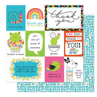 Photo Play Paper - Snail Mail Collection - 12 x 12 Double Sided Paper - Hey Thanks