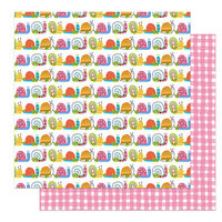 Photo Play Paper - Snail Mail Collection - 12 x 12 Double Sided Paper - Merci