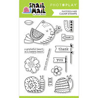 Photo Play Paper - Snail Mail Collection - Clear Photopolymer Stamps