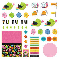 Photo Play Paper - Snail Mail Collection - 12 x 12 Single Sided Paper - Pre-Colored Die Cut Outs