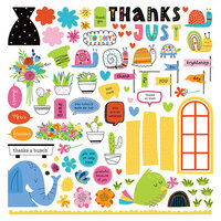 Photo Play Paper - Snail Mail Collection - Card Kit Stickers