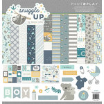 Photo Play Paper - Snuggle Up Collection - Boy - 12 x 12 Collection Pack