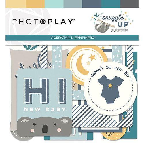 Photo Play Paper - Snuggle Up Collection - Boy - Ephemera