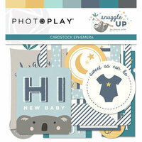Photo Play Paper - Snuggle Up Collection - Boy - Ephemera