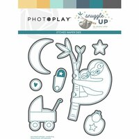 Photo Play Paper - Snuggle Up Collection - Boy - Die Set