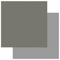 Photo Play Paper - Snuggle Up Collection - Boy - 12 x 12 Double Sided Paper - Solids Plus - Dark Grey Blue