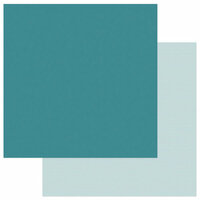 Photo Play Paper - Snuggle Up Collection - Boy - 12 x 12 Double Sided Paper - Solids Plus - Blue