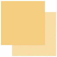 Photo Play Paper - Snuggle Up Collection - Boy - 12 x 12 Double Sided Paper - Solids Plus - Yellow