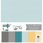 Photo Play Paper - Snuggle Up Collection - Boy - 12 x 12 Collection Pack - Solids Plus