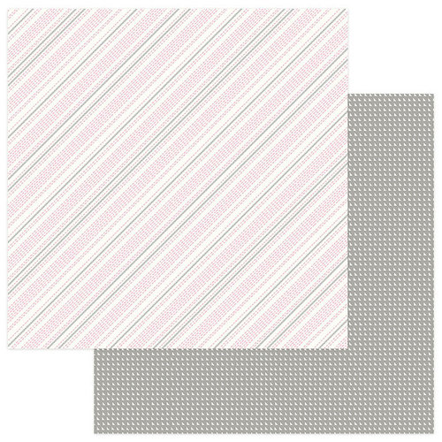 Photo Play Paper - Snuggle Up Collection - Girl - 12 x 12 Double Sided Paper - Stitched in Love
