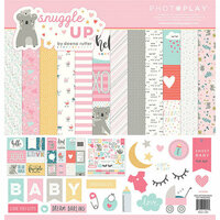 Photo Play Paper - Snuggle Up Collection - Girl - 12 x 12 Collection Pack