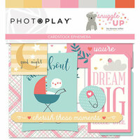 Photo Play Paper - Snuggle Up Collection - Girl - Ephemera