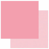 Photo Play Paper - Snuggle Up Collection - Girl - 12 x 12 Double Sided Paper - Solids Plus - Light Pink