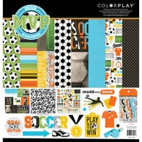 Color Play - MVP Soccer Collection - 12 x 12 Collection Pack