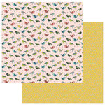 Photo Play Paper - Stuck on You Collection - 12 x 12 Double Sided Paper - Life is Tweet