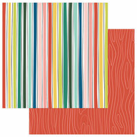 Photo Play Paper - Stuck on You Collection - 12 x 12 Double Sided Paper - Enjoy Today