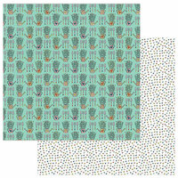 Photo Play Paper - Stuck on You Collection - 12 x 12 Double Sided Paper - Love Grows