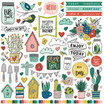 Photo Play Paper - Stuck on You Collection - 12 x 12 Cardstock Stickers - Elements