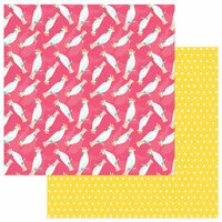 Photo Play Paper - Squeeze in Some Fun Collection - 12 x 12 Double Sided Paper - Cockatoo