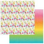 Photo Play Paper - Squeeze in Some Fun Collection - 12 x 12 Double Sided Paper - Summer Lovin'