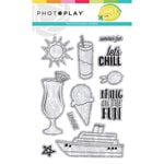 Photo Play Paper - Squeeze in Some Fun Collection - Clear Photopolymer Stamps - Elements