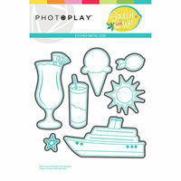 Photo Play Paper - Squeeze in Some Fun Collection - Die Set - Elements