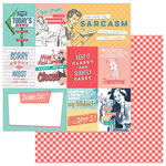Photo Play Paper - Slightly Sassy Collection - 12 x 12 Double Sided Paper - Sassy Cards