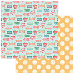 Photo Play Paper - Slightly Sassy Collection - 12 x 12 Double Sided Paper - Eat At Joe's