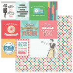 Photo Play Paper - Slightly Sassy Collection - 12 x 12 Double Sided Paper - Snarky Cards