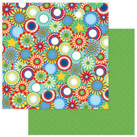 Photo Play Paper - State Fair Collection - 12 x 12 Double Sided Paper - Rosettes