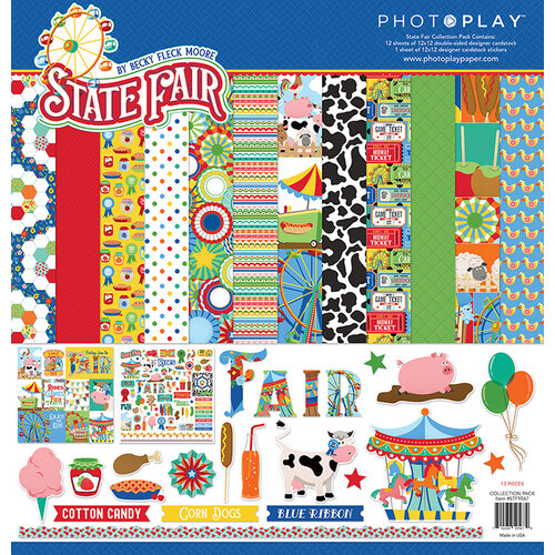 Photo Play Paper - State Fair Collection - 12 x 12 Collection Pack