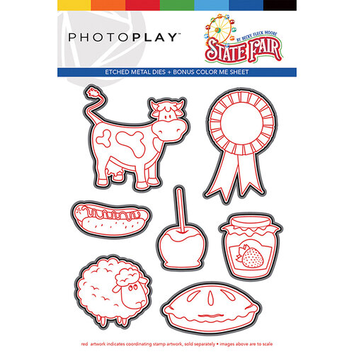 Photo Play Paper - State Fair Collection - Dies