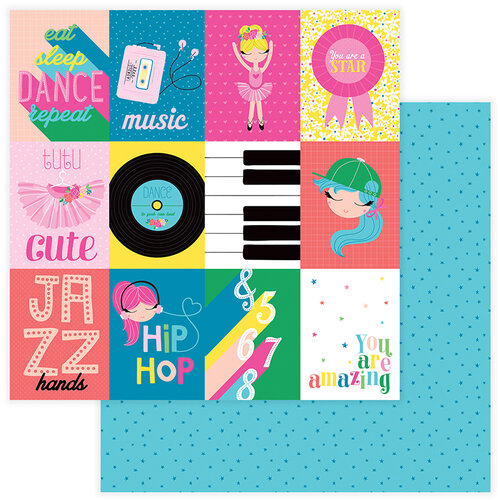 Color Play - Star Of The Show Collection - 12 x 12 Double Sided Paper - You