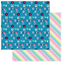 Color Play - Star Of The Show Collection - 12 x 12 Double Sided Paper - Hip Hop