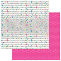 Color Play - Star Of The Show Collection - 12 x 12 Double Sided Paper - We've Got the Beat