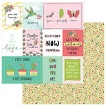 Photo Play Paper - Spread Your Wings Collection - 12 x 12 Double Sided Paper - Grow
