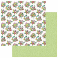 Photo Play Paper - Spread Your Wings Collection - 12 x 12 Double Sided Paper - Renew