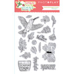 Photo Play Paper - Spread Your Wings Collection - Clear Acrylic Stamps