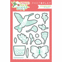 Photo Play Paper - Spread Your Wings Collection - Die Set
