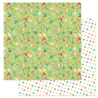 Photo Play Paper - Tulla's Birthday Collection - 12 x 12 Double Sided Paper - Party Favors