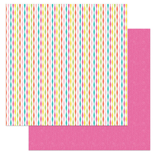 Photo Play Paper - Tulla's Birthday Collection - 12 x 12 Double Sided Paper - Decorations