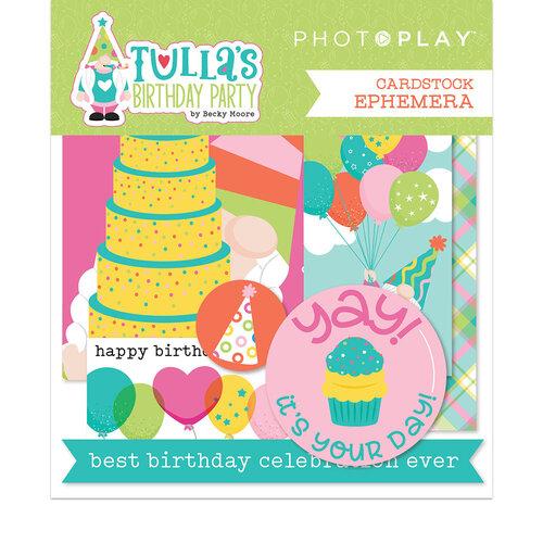 Photo Play Paper - Tulla's Birthday Collection - Ephemera