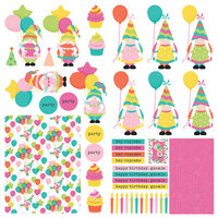 Photo Play Paper - Tulla's Birthday Collection - 12 x 12 Paper - Elements
