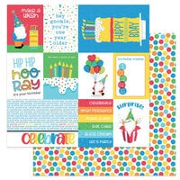 Photo Play Paper - Norbert's Birthday Collection - 12 x 12 Double Sided Paper - Surprise