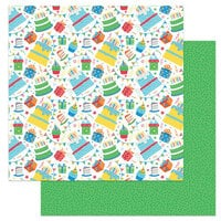 Photo Play Paper - Norbert's Birthday Collection - 12 x 12 Double Sided Paper - Make a Wish
